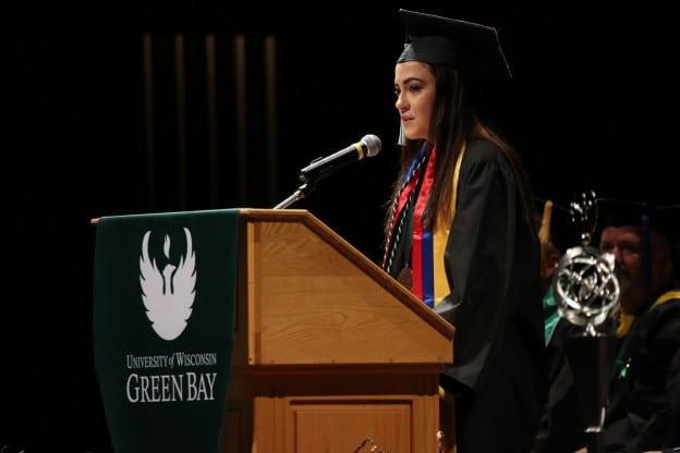 2019 Student Speaker Hannah Malmberg