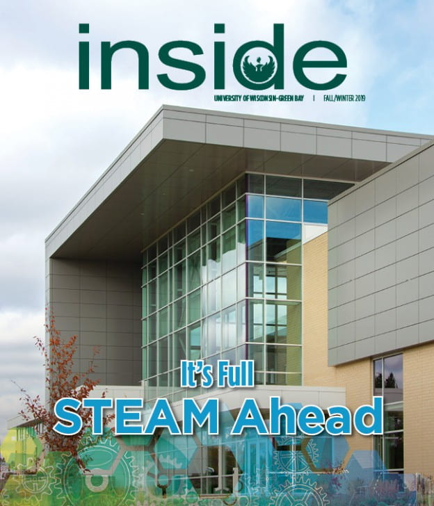 It's Full STEAM Ahead Inside Magazine Cover, Fall/Winter 2019