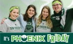 It's Phoenix Friday! - photo of students wearing Phoenix apparel