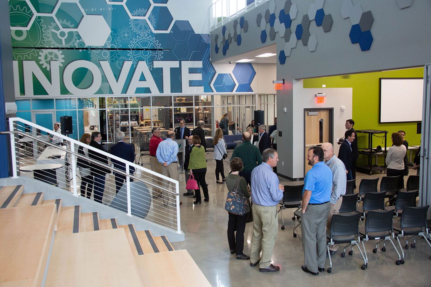 Brown County STEM Innovation Center grand opening