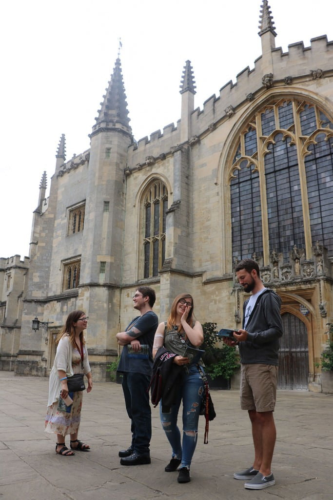 Oxford England study abroad trip