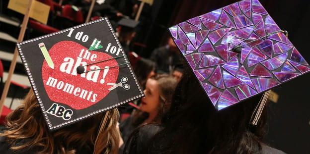 Graduation Cap Art