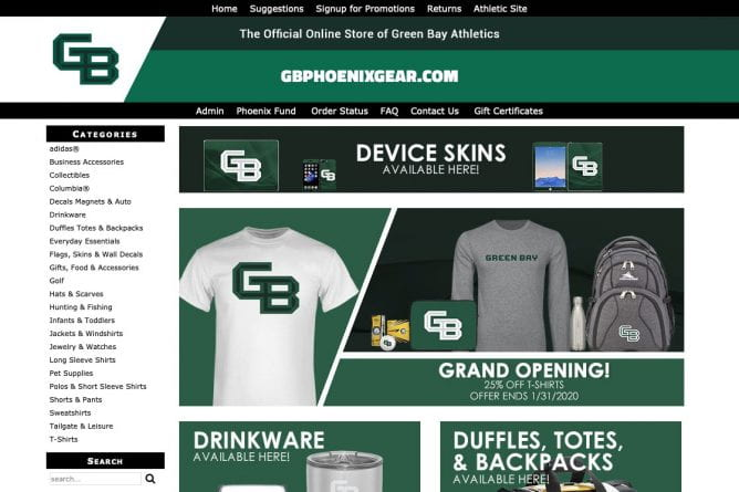 GBPhoenixGear.com screenshot