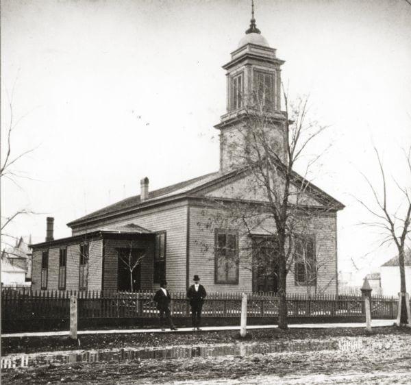 First Presbyterian Church Wisconsin Historical Society, Image ID: 31586