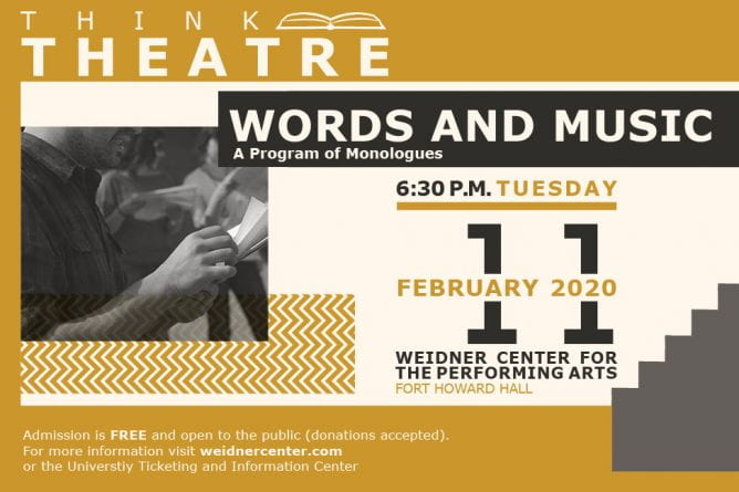 Think Theatre Words and Music
