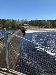 Menominee River Dam, May 20, 2020