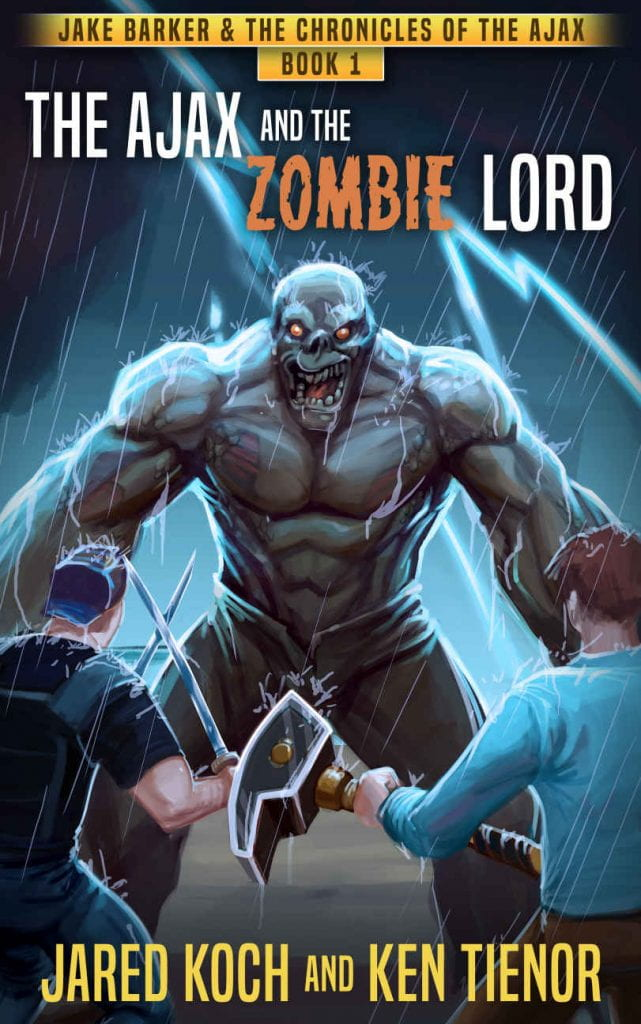 Cover: The Ajax and the Zombie Lord