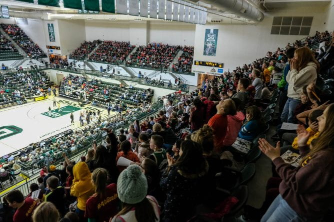 Women's Basketball at Kress Events Center