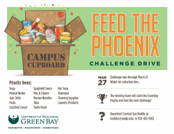 Feed the Phoenix Challenge Drive flier