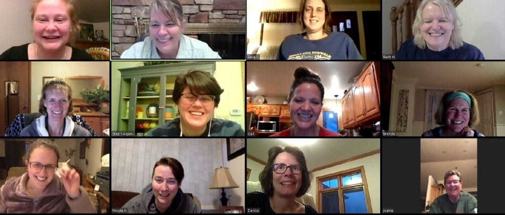 UW-Green Bay Bunco zoom meeting