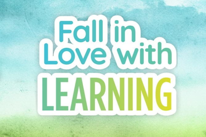 Fall in Love with Learning - Fall Youth Programs