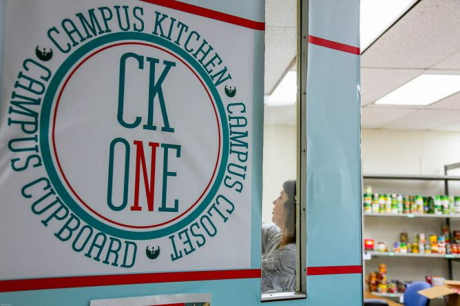 CK One Door, Green Bay Campus, Campus Cupboard, Campus Closet, Campus Kitchen