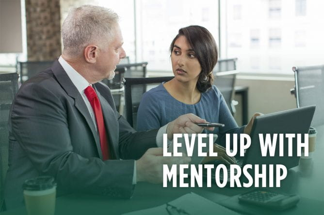 Level up with Mentorship