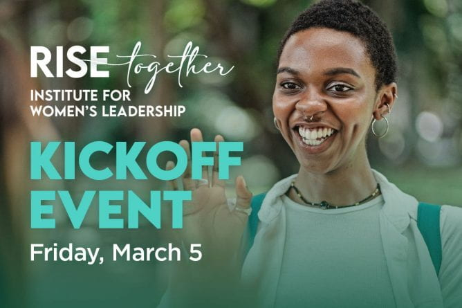 Institute for Women's Leadership Kickoff