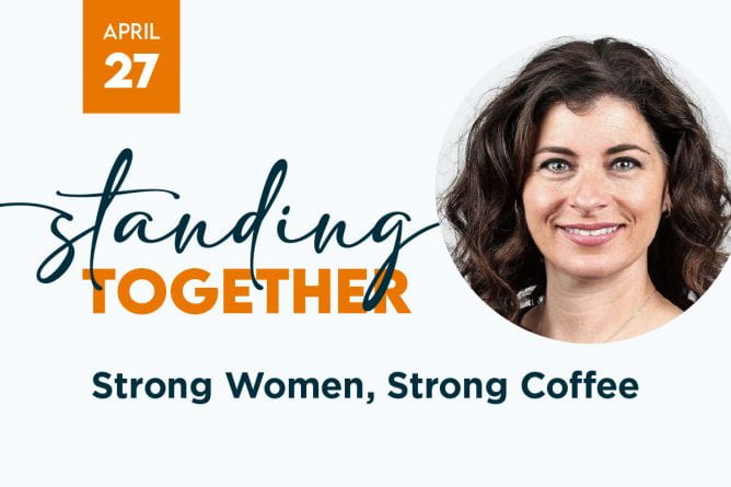 Image for standing together