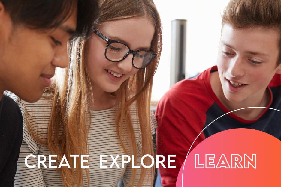 UWGB 2021 Summer Camps - Create Explore Learn