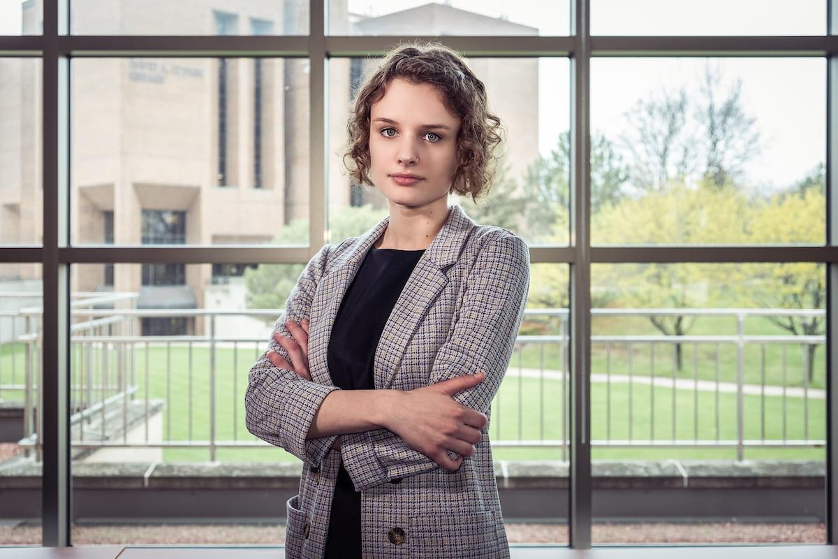 Student Speaker Abby Tower
