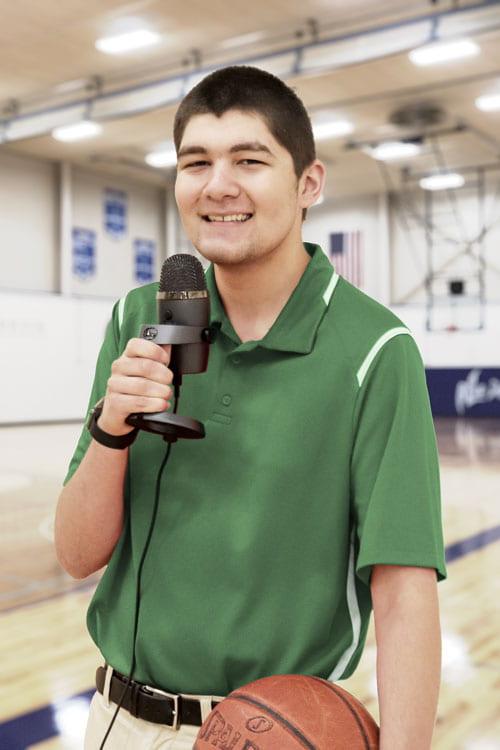 Jordon Lawrenz, Manitowoc Campus Sports Broadcasting and Journalism student