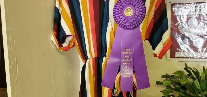 Ebanie Schmidt wins Grand Champion award
