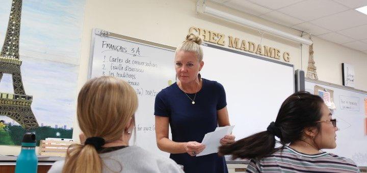 CCIHS French Teacher
