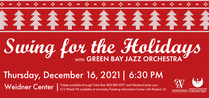 Swing for the Holidays coming to the Weidner Center