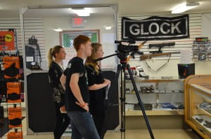 One of my courses at UWGB is Practicum in Print Journalism, where I work with video production for Phlash TV.