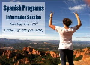spanish info session