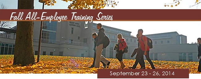 fall2014 training series