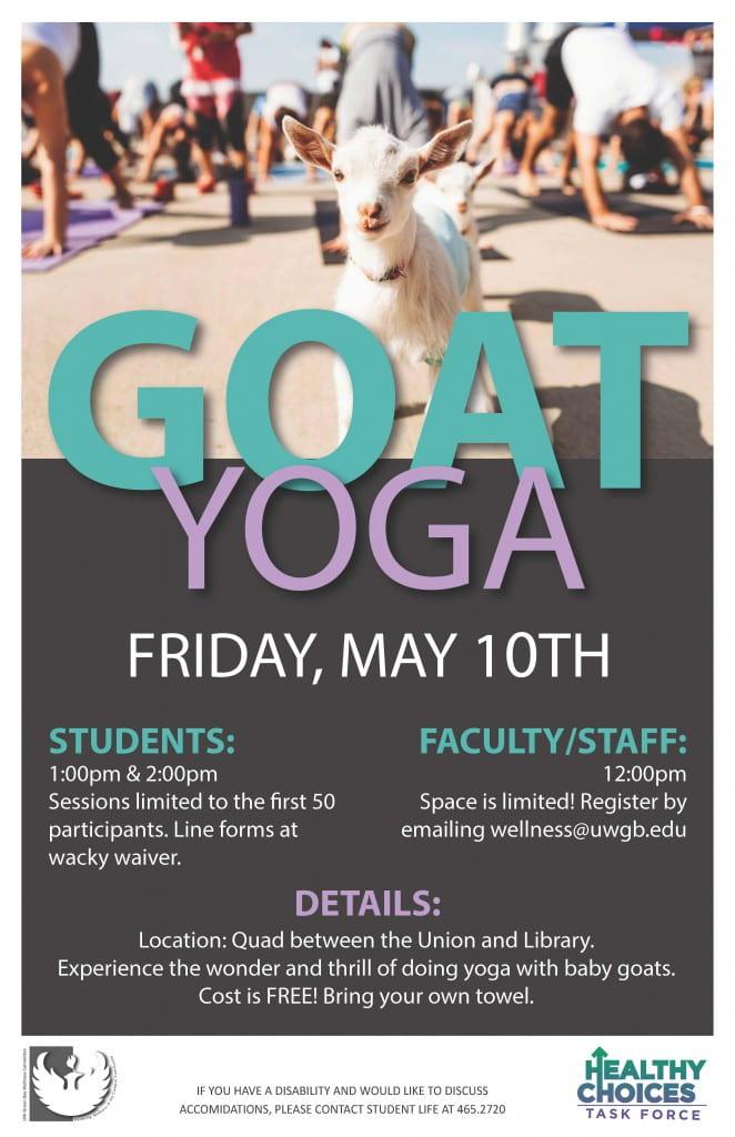 Goat YogaPoster
