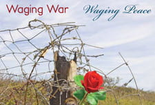 Waging War, Waging Peace campus common theme image