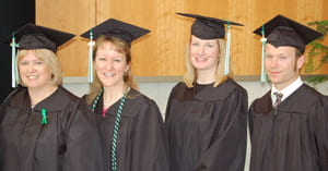 graduates, Adult Degree Program