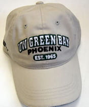 UW-Green Bay merchandise is available at Phoenix Bookstore.