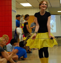 summer art camp style show