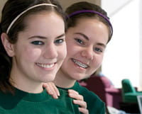 Amanda and Beth Rodenhauser, scholarship recipients