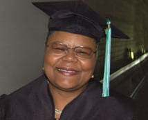 Vickie Dansbury, UW-Green Bay Adult Degree graduate