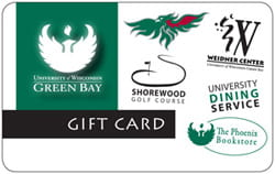UW-Green Bay gift card
