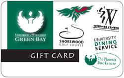 UW-Green Bay gift card