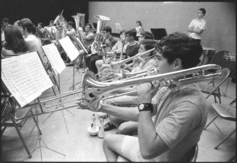 Photo memory 4 - Band rehearsal