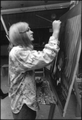 Photo memory 9 - Girl oil painting