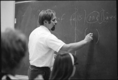 Photo memory 11 - Mike Murphy teaching