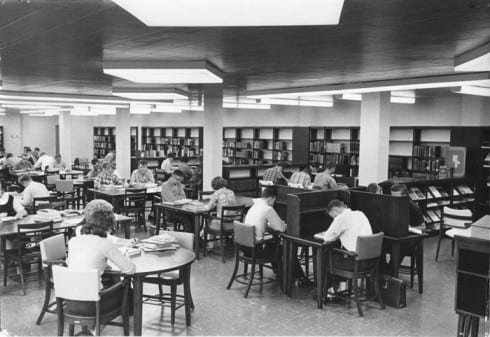 Photo memory 34 - Deckner campus library, mid-1960s