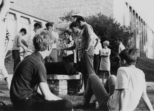Photo memory 35 - ES Barbecue at the Deckner Campus
