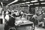 Photo memory 44 - Library, Instructional Services, ca. 1969