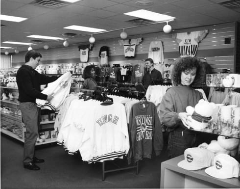 Photo memory 56 - University Bookstore c.1987