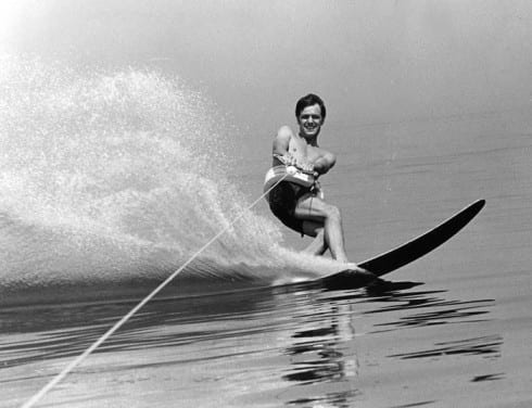 Photo memory 59 - Water skiing, (Slalom water skiing)
