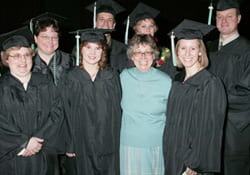 Adult Degree grads and Trudy