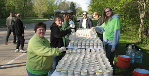 Cellcom Marathon-volunteers
