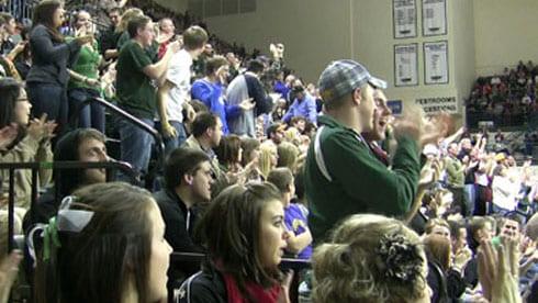 Phoenix basketball fans