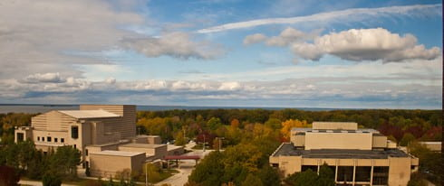 UWGB Fall photo