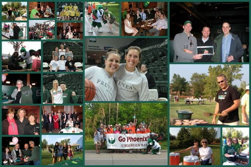2012 Alumni year in review photo collage